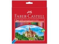 Faber-Castell Slott Fargeblyanter 24 pakning