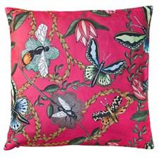 d189ac84e Nadja Wedin Design Putetrekk sammet 48x48 cm Bugs & Butterflies ...