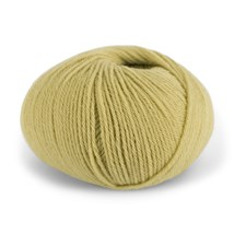Dale Garn Pure Eco Baby Wool Økologisk Ull 50 g Korngul 1309