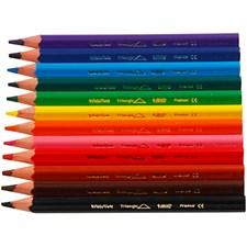 Färgpennor 5 mm 12 Färger