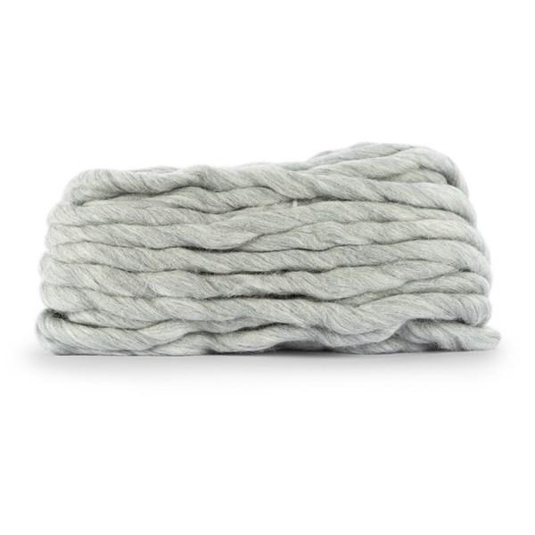 Knit At Home Chunky Wool Lanka Villalangat 200 g vaalea harmaa 932