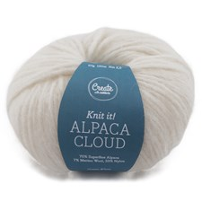 Adlibris Alpaca Cloud 50g Cream White A264