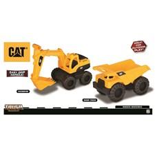 Rugged Machines, Dumper och Grävmaskin, CAT