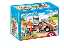 Ambulans med ljus och ljud, Playmobil City Life (6685)