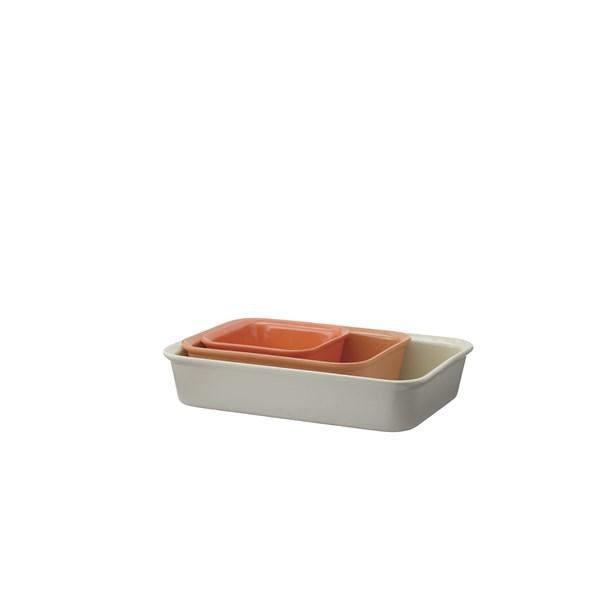 RIG-TIG Ugnsfast Form Cook & Serve 3-pack orange  RIG-TIG by Stelton
