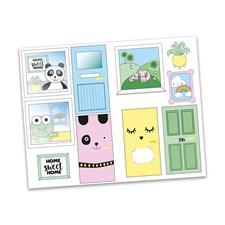 Sticker set, Creative Dörrar, Lundby