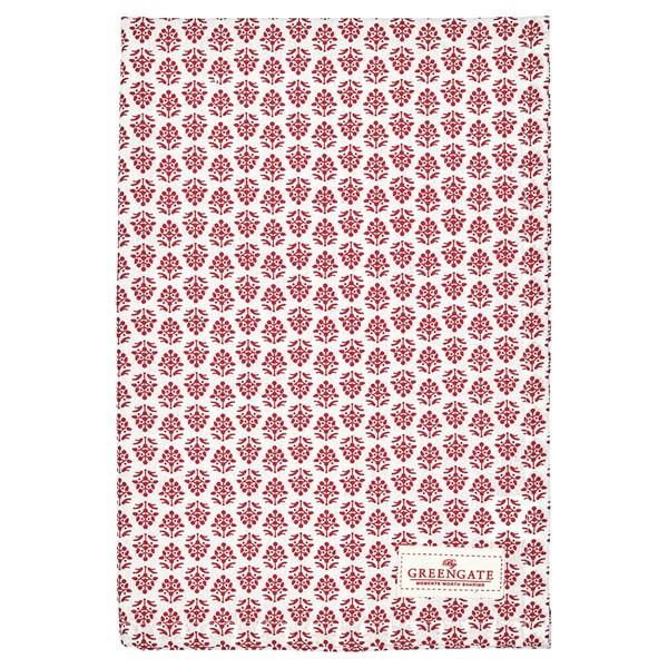 gröngate Ashley Kökshandduk 70x50 cm Röd (rød) - kökshanddukar