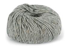 Du store Alpakka Tweed Garn Ullmix 50 g Grå 101