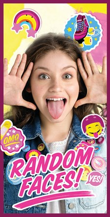 Badlakan 70x140, Random faces, Soy Luna