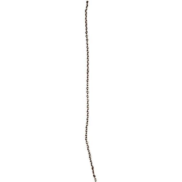Ketju, lev. 2 mm, 2 m, kullanvärinen
