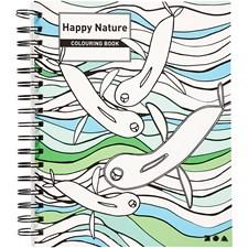 Målarbok Happy Nature