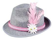 Hattu Oktoberfest Vaaleanpunainen