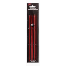Strømpepinner 20cm/2,50mm Rød