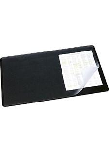 Skrivbordsunderlägg med Klaff 53x40 cm Svart