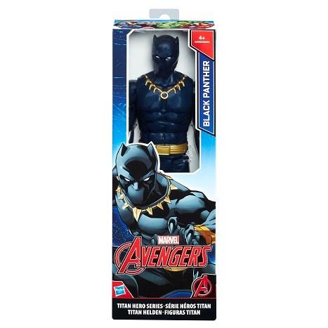 Titan Hero svart Panther  30 cm  The Avengers - actionfigurer