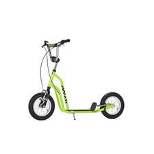 Yedoo Three, Sparkesykkel med lufthjul, Grønn