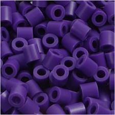 Rörpärlor 5x5 mm 1100 st Mörklila (11)