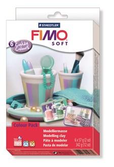 """FIMO® soft Colour-pakkaus """"Candy Colours"""", 5 + 1"""