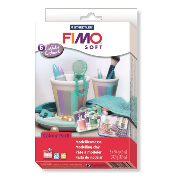 FIMO® soft Colour-pack  Candy Colours   STAEDTLER Fimo®