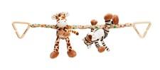 Diinglisar Wild Vagnhänge, Giraff & Tiger, Teddykompaniet