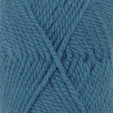 Drops Alaska Uni Colour Garn Ullgarn 50g Dark Turquoise 52