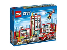 Brandstation, LEGO City Fire (60110)