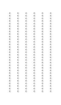Klistremerke Strass Krystall, 2 mm 7/15 cm