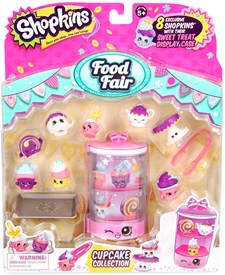 Cupcake Collection, Food Fair, Shopkins