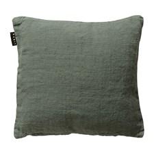 Linum Raw Tyynynpäällinen 100% Juutti 50 x 50 cm Grey Green