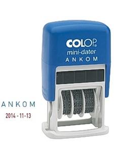 """Stempel COLOP dato Printer 160 """"Ankom"""""""