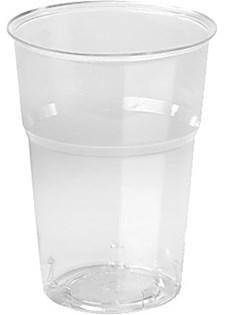 Plastglas Trend 39 cl Transparent 50 st