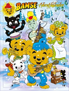 Adventskalender Bamse 2017