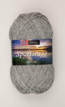 Viking of Norway Sportsragg 50 gr Lys grå 513