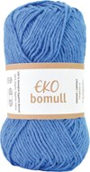 Järbo Eko bomull Garn Eko Bomull 50g Blå (63211)