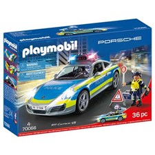 Porsche 911 Carrera 4S Polis – Vit, Playmobil (70066)