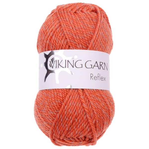 Viking of Norway Reflex Garn Ullmix 50g Orange 451