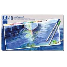 Karat® akvarell 48-pack, av högsta kvalitet, i metallask.