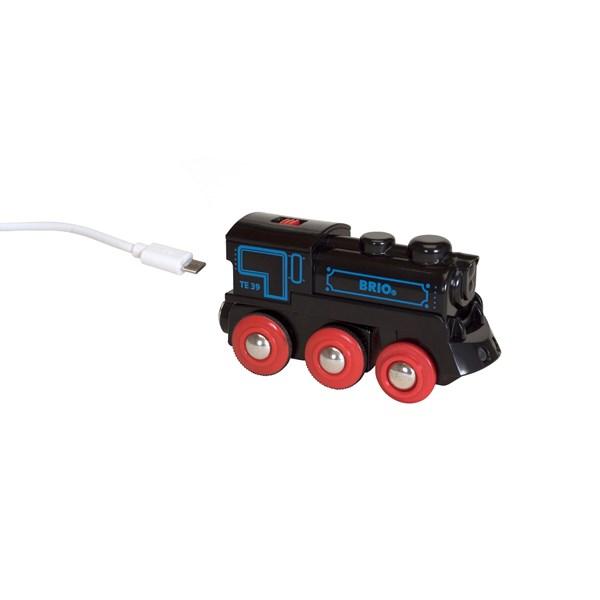 Uppladdningsbart lok  4WD  Brio Träjärnväg (33599) - leksaksbilar & fordon