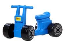 Sparkesykkel, blå, Plasto