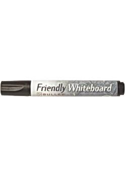 Whiteboardpennor Rund Svart 1 st