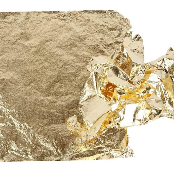 Bladmetall, ark 16x16 cm, 25 ark