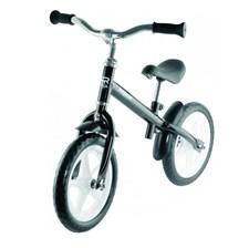 "Springcykel 12"", RunRacer, Black, Stiga"