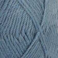Drops Lima Uni Colour Lanka Villasekoitus 50g Grey Blue 6335