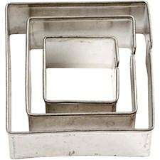 Kakformar Fyrkant största mått 40x40 mm3 st