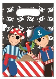 Pirat Godispåsar, 6 st