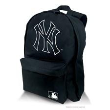 Svart ryggsäck med NY-motiv