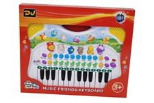 Music Friends, Keyboard med dyrelyder