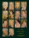 Kvinnliga Nobelpristagare i litteratur Poster 50x70 cm
