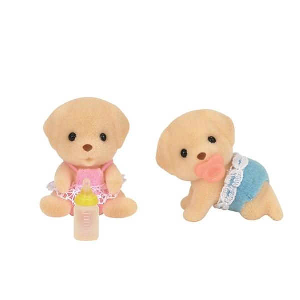 Labrador-tvillingar  Sylvanian Families - figurer & miniatyrer