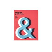 """Anteckningsbok """"Pleasure Perfection"""" Large med Linjerade Stenpapper Soft Cover"""